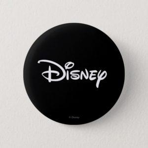 Disney White Logo Button