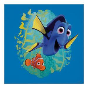 Dory & Nemo | Swim With Friends Poster