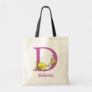 Dr. Seuss's ABC: Letter D - Purple | Add Your Name Tote Bag