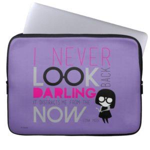 Edna Mode - I Never Look Back Computer Sleeve