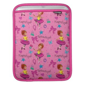 Fancy Nancy | Magnifique Pink Pattern iPad Sleeve