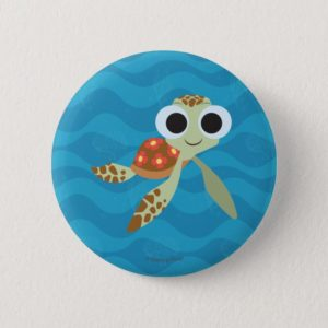 Finding Dory | Squirt Pinback Button