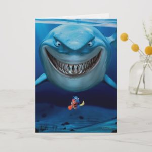 Finding Nemo   Bruce Grinning Card