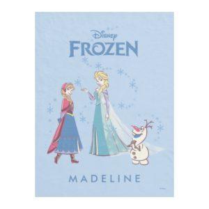 Frozen   Elsa, Anna & Olaf Fleece Blanket