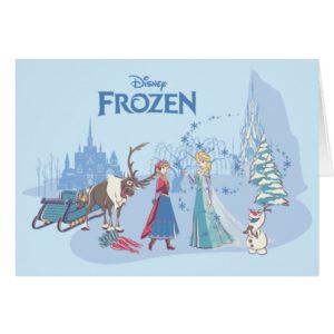 Frozen | Sven, Anna, Elsa & Olaf Blue Pastels