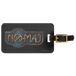 Gold & Marble NO-MAJ™ Badge Luggage Tag