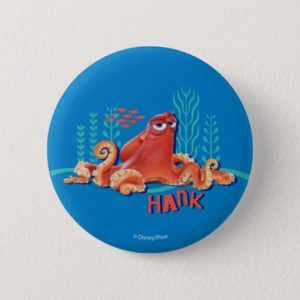 Hank | Fun Under the Sea Pinback Button