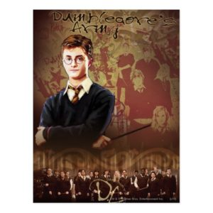 HARRY POTTER AND THE ORDER OF THE PHOENIX™ Collage Postcard