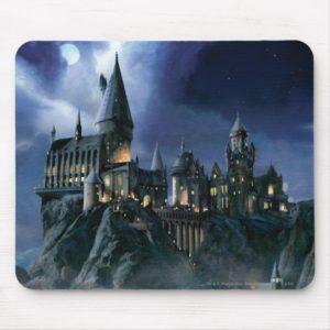 Harry Potter Castle | Moonlit Hogwarts Mouse Pad