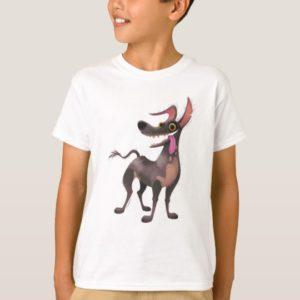Disney Pixar Coco | Dante | Funny Tongue Out T-Shirt