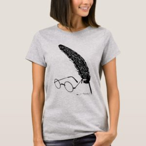 Harry Potter | Glasses And Quill T-Shirt