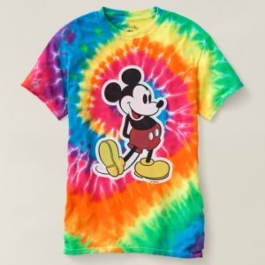 Classic Mickey Mouse Tie-Dye Women's T-shirt