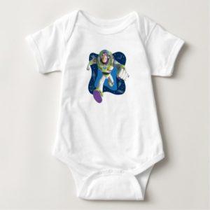 Toy Story's Buzz Lightyear running Baby Bodysuit