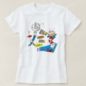 Dr. Seuss | Up Up Up with a Fish T-Shirt