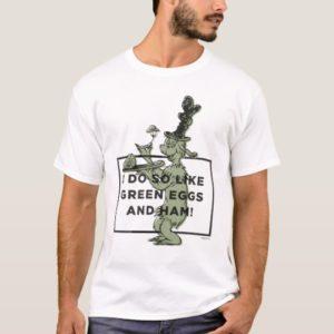 Dr. Seuss | I Do So Like Green Eggs and Ham T-Shirt