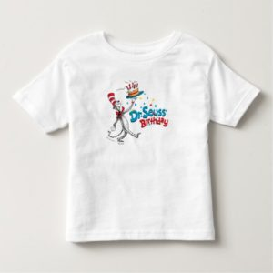 The Cat in the Hat | Dr. Seuss' Birthday Toddler T-shirt