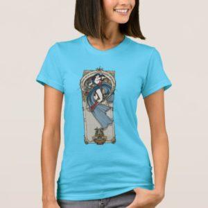 Wonder Woman Art Nouveau Panel T-Shirt