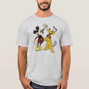 Mickey & Friends   Vintage Mickey & Pluto T-Shirt