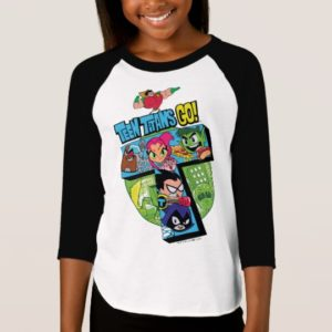 Teen Titans Go!   Titans Tower Collage T-Shirt