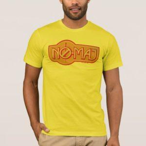 Red & Yellow NO-MAJ™ Badge T-Shirt