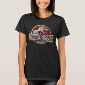 Jurassic Park | Metal Logo T-Shirt