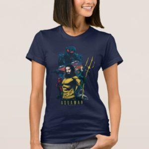 Aquaman | Orin, Mera, and Black Manta Graphic T-Shirt
