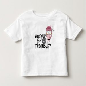 Despicable Me | Edith - Who's Up for Trouble Toddler T-shirt