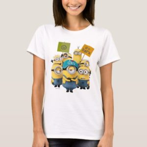 Despicable Me | Minions with Signs T-Shirt
