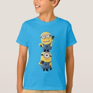 Despicable Me | Minions Tom & Stuart Stacked T-Shirt