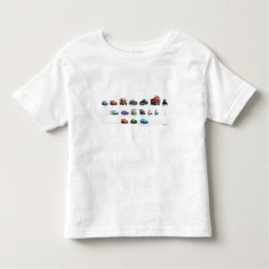 Disney Cars Lineup Toddler T-shirt