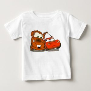 Cars Lightning McQueen and Mater Disney Baby T-Shirt
