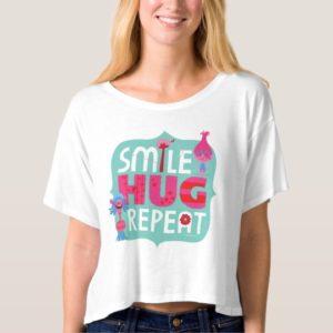 Trolls   Smile, Hug, Repeat T-shirt