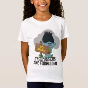Trolls | Branch - Trespassers are Forbidden T-Shirt