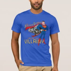 Justice League Action   An End To Villainy T-Shirt