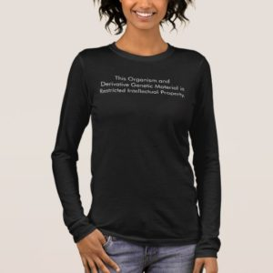 This Organism is Restricted Property- Orphan Black Long Sleeve T-Shirt