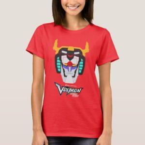 Voltron | Colored Voltron Head Graphic T-Shirt