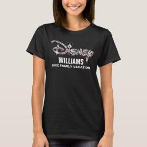 Disney Logo   Mickey & Friends - Family Vacation T-Shirt