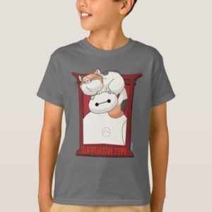 Baymax & Mochi | Supportive Type T-Shirt