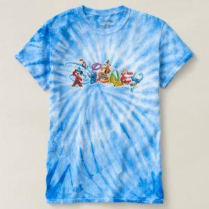 Disney Logo   Mickey and Friends Tie-Dye T-shirt