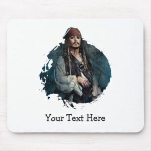 Jack Sparrow Portrait 2 Mouse Pad