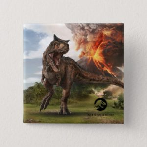 Jurassic World | Carnotaurus Button