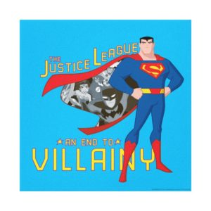 Justice League Action | An End To Villainy Canvas Print