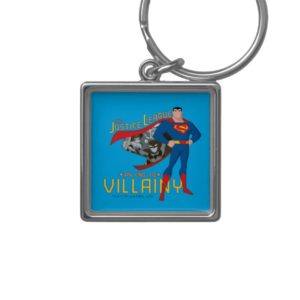 Justice League Action | An End To Villainy Keychain