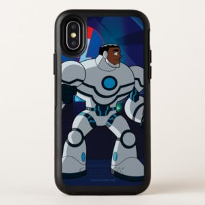 Justice League Action | Cyborg Character Art OtterBox iPhone Case