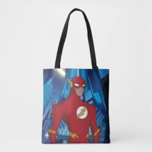 Justice League Action | Flash Character Art Tote Bag
