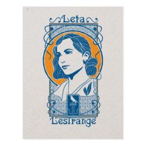 Leta Lestrange Illustration Postcard