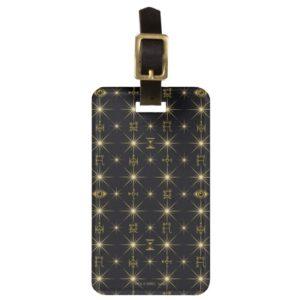 Magical Symbols Pattern Luggage Tag