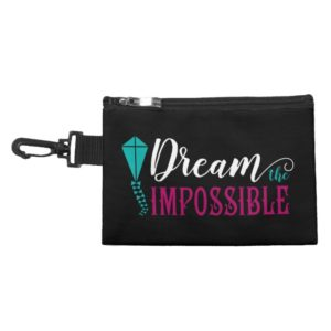 Mary Poppins   Dream the Impossible Quote Accessory Bag