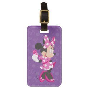 Minnie   I Believe in Me Luggage Tag