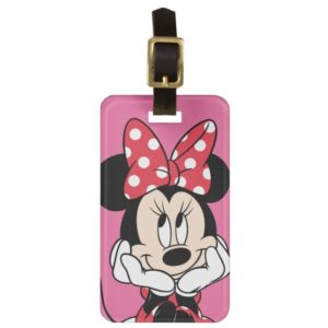 Minnie Mouse Luggage Tag